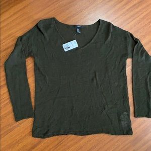 Forever 21 sweater Olive Green Small